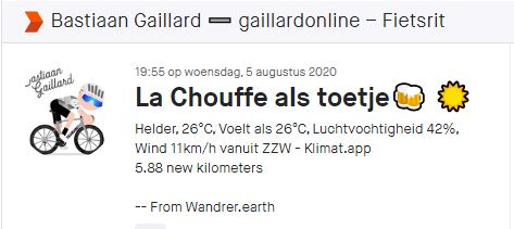 Wandrer Earth informatie