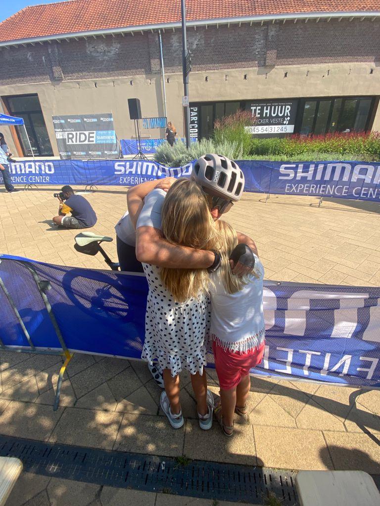 The Ride 2021 finishboog Shimano Experiece Center